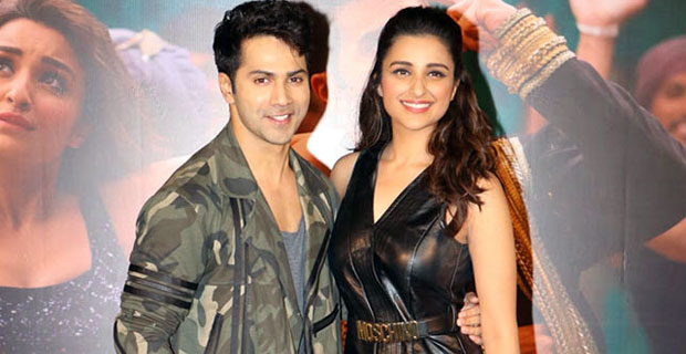 Varun Dhawan, Parineeti Chopra At 'Jaaneman Aah' Song Launch
