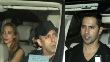 Salman Khan, Iulia Vantur, Varun Dhawan Celebrate Arpita Sharma's mother In Law's Birthday
