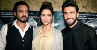 Ranveer Singh, Deepika Padukone At Screening Of 'Madaari'