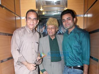 Khayyam Saab launches the music of Dream Merchant Films' 'Majaz - Ae Gham-e-Dil Kya Karun'