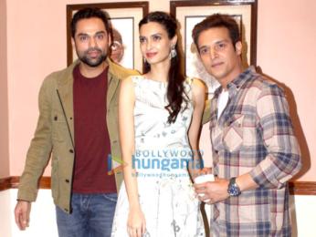 Media meet with 'Happy Bhag Jayegi' star cast