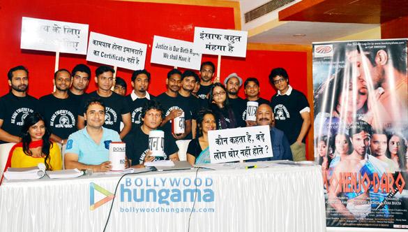 Akashaditya Lama hosts a press conference against 'Mohenjo Daro' HC judgement