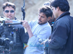 On The Sets Of The Movie My Father Iqbal