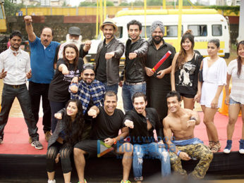 Promotion of the film 'Sunshine Music Tours and Travels' at Chitrakoot ground Andheri