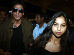Shah Rukh Khan Spotted At Airport With Daughter Suhana