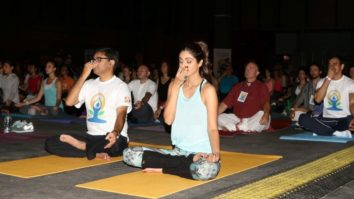 Shilpa Shetty At 'IIFA Yoga Masterclass'