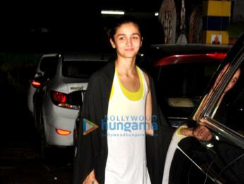 Sidharth Malhotra, Alia Bhatt & Aditya Roy Kapur snapped post dance practice for Dream Team Concert