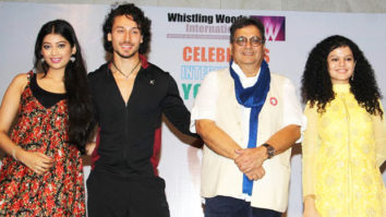 Tiger Shroff Celebrates International Yoga Day