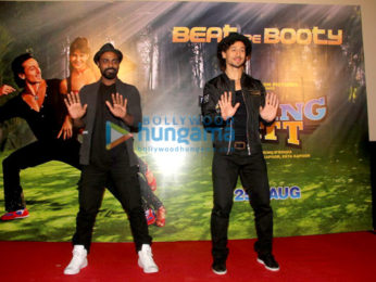 Tiger Shroff & Remo Dsouza promote 'A Flying Jatt'