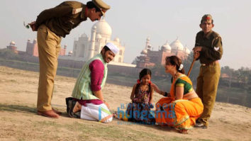 On The Sets Of The Movie Wah Taj