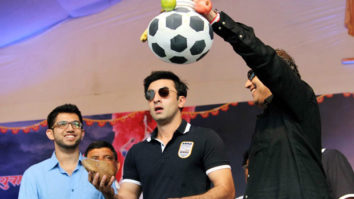 When Ranbir Kapoor Broke Dahi Handi; Celebrates Janmashtmi In Mumbai