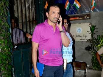 Aditya Roy Kapur & Atul Kasbekar snapped post lunch at Pali Village Cafe