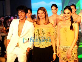 Ahaan Panday walks for Nandita Mahtani's show
