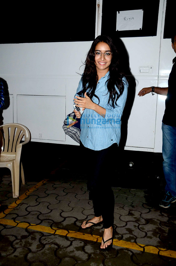 Arjun Kapoor, Shraddha Kapoor, Chetan Bhagat snapped on the sets of 'Half Girlfriend'
