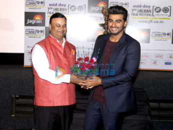 Arjun Kapoor at the 'Jagran Festival's inaugural night