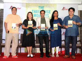 Farah Khan, Sajid Khan & David Dhawan at 'The Three Wise Monkeys' book launch