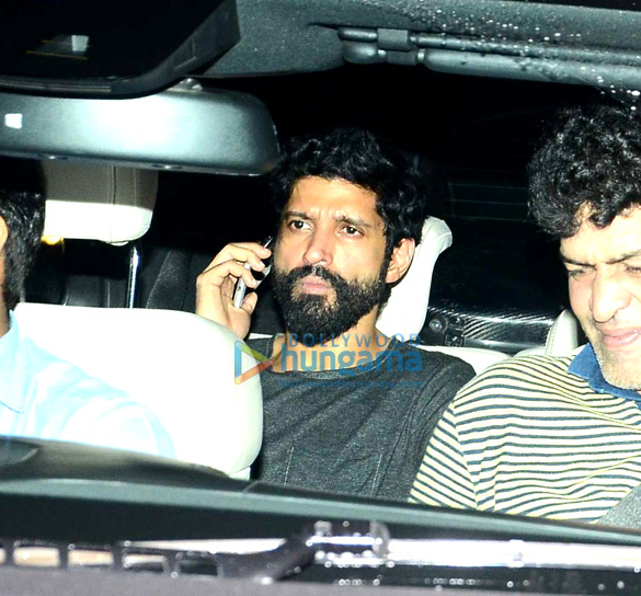 Farhan Akhtar & Shraddha Kapoor snapped post 'Rock On!! 2' shoot