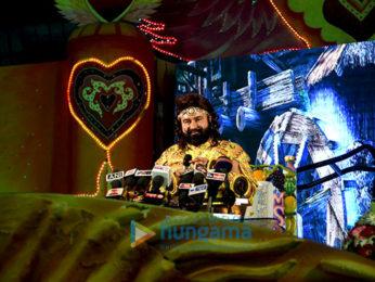 Gurmeet Ram Rahim Singh Ji Insan creates a record for 'MSG The Warrior – Lion Heart' promotions in Sirsa, Haryana