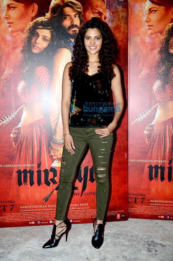Harshvardhan Kapoor & Saiyami Kher snapped at 'Mirzya' promotions