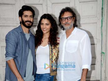 Rakeysh Omprakash Mehra, Harshvardhan Kapoor & Saiyami Kher promote 'Mirzya'