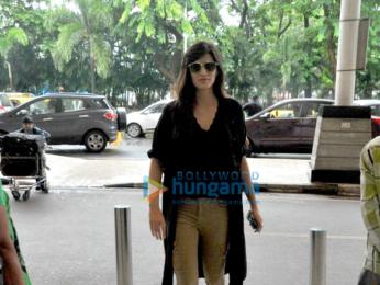 Kriti Sanon departs for Varanasi