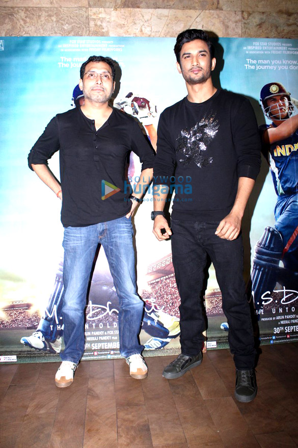 Launch of 'Har Gully Mein Dhoni Hai' song from 'M.S. Dhoni – The Untold Story'