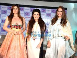Neha Dhupia, Zareen Khan & Archana Kocchar at The Winter Affair announcement