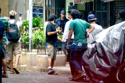 On The Sets Of The Film Reloaded