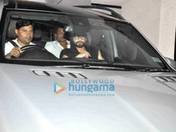 Shahid Kapoor snShahid Kapoor snapped post his meeting with film maker Sanjay Leela Bhansaliapped post meeting with Sanjay Leela Bhansali