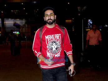 Sonam Kapoor, Ajay Devgn & Ayushmann Khurrana snapped at the airport