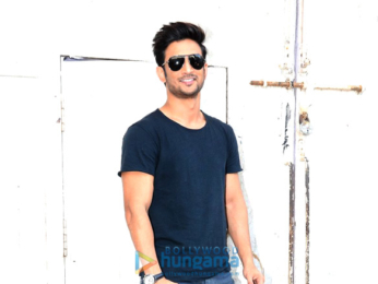 Sushant Singh Rajput snapped at the promotions of 'M.S. Dhoni – The Untold Story'