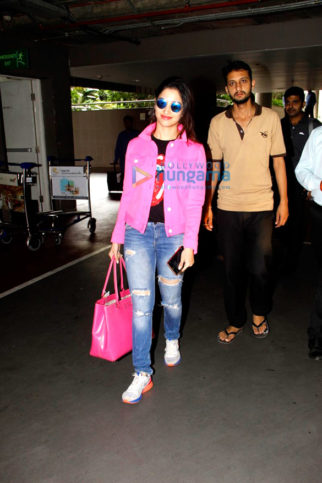 Tamannaah Bhatia, Mahendra Singh Dhoni, Upen Patel & Urvashi Rautela snapped at the airport