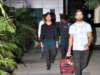Tiger Shroff returns from Varanasi