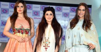 Zareen Khan, Neha Dhupia At Press Conference Of 'The Winter Affair'