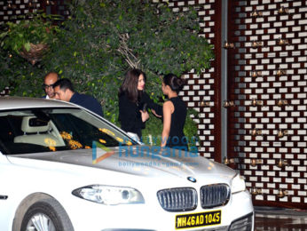 Launch after party of the 18th MAMI Mumbai Film Festival at Ambani's house