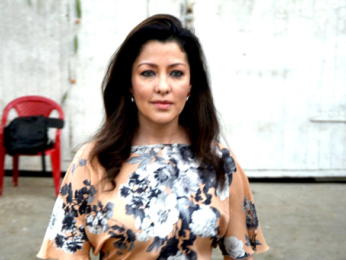 Aditi Govatriker snapped post a shoot in Mehboob Studio