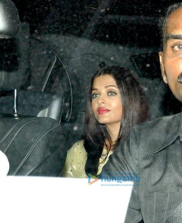 Aishwarya Rai Bachchan snapped post 'Ae Dil Hai Mushkil' screening