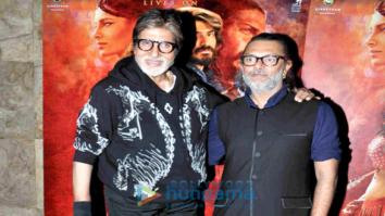 Amitabh Bachchan & Waheeda Rehman grace 'Mirzya' screening