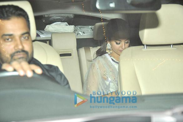 Anil Kapoor & Sonam Kapoor's diwali Bash