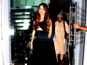 Arbaaz Khan and Malaika Arora Khan snapped post family dinner at Royal China