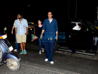 Arjun Rampal & Pooja Bhatt snapped at The Korner House