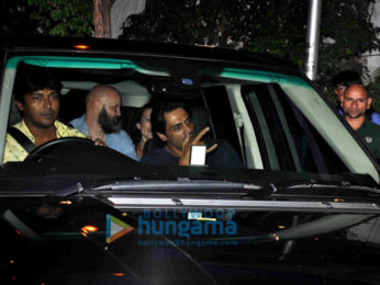 Arjun Rampal snapped post dinner at Olive