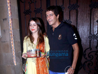 Celebs celebrate Karva Chauth at Anil Kapoor's house in Juhu