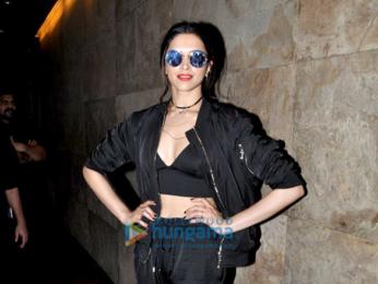 Deepika Padukone snapped at Lightbox
