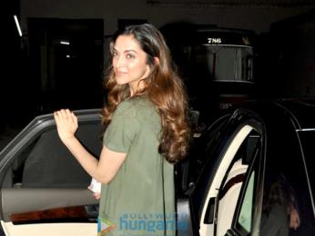Deepika Padukone snapped post Parachute Ad shoot in Mumbai