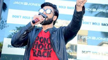 Ranveer Singh Raps 'Don't Hold Back' For Jack & Jones