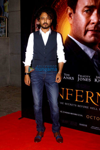 Special Screening Of Irrfan Khan's 'Inferno'