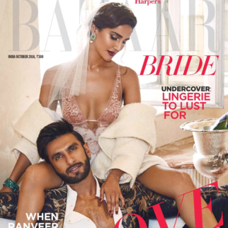 On the covers of Harper's Bazaar
