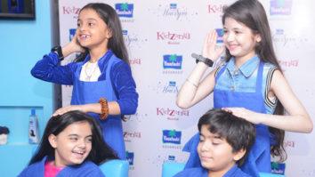 Harshaali Malhotra At Parachute Kids Hair Spa Party