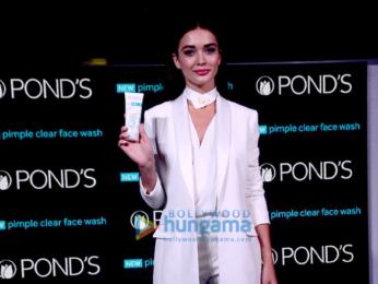 Ileana Dcruz & Amy Jackson at the launch of Pond's new range
